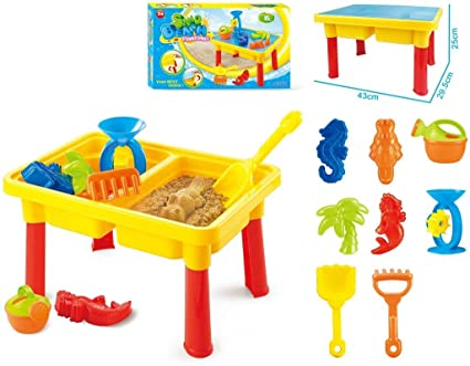 Delicieux Toys Bhoomi 2 In 1 Beach Sand U0026 Water Play Table For Kids With