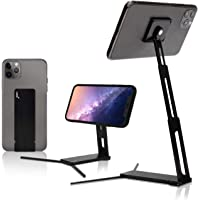 Lookstand + Detach Mount Onyx Adjustable Cell Phone Stand Compatible with iPhone & Android - Cell Phone Holder for Bed…