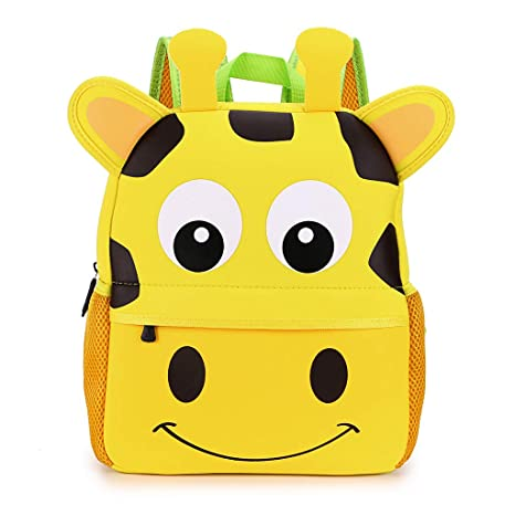 Hipiwe Little Kid Toddler Backpack Baby Boys Girls Kindergarten Pre School  Bags Cute Neoprene Cartoon Backpacks 4c90d4888b684