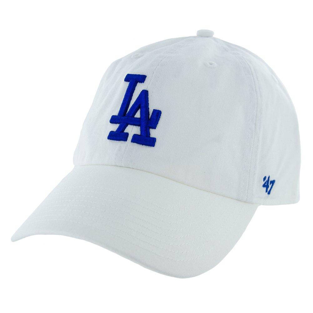 47 Brand Los Angeles LA Angels Clean up Dad Hat Cap Grey