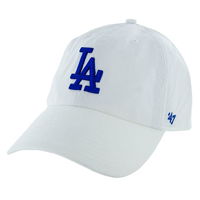 outlet store 8583a 34c3a ... discount amazon 47 brand mlb los angeles dodgers clean up cap dark  maroon clothing f229b 2ffbd