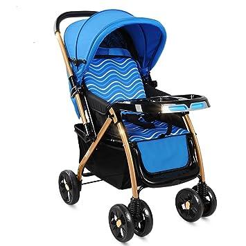 DUO Sillita de paseo Se puede sentar y tumbar Ligera, plegable Carro de bebé Paisaje