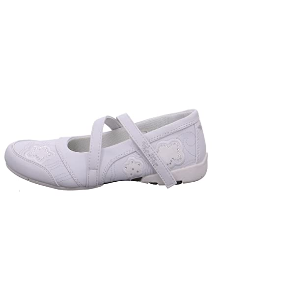 Pep Step Girls' 2762410/00002 Ballet Flats white 00002White: Amazon.co.uk:  Shoes & Bags