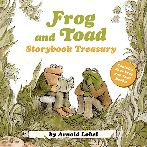 Frog and Toad Storybook Treasury: 4 Complete Stories in 1 Volume! (I Can Read Level 2) ()