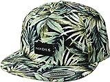 NIXON Unisex Tropics Snapback Hat Navy/Pacific Blue One Size