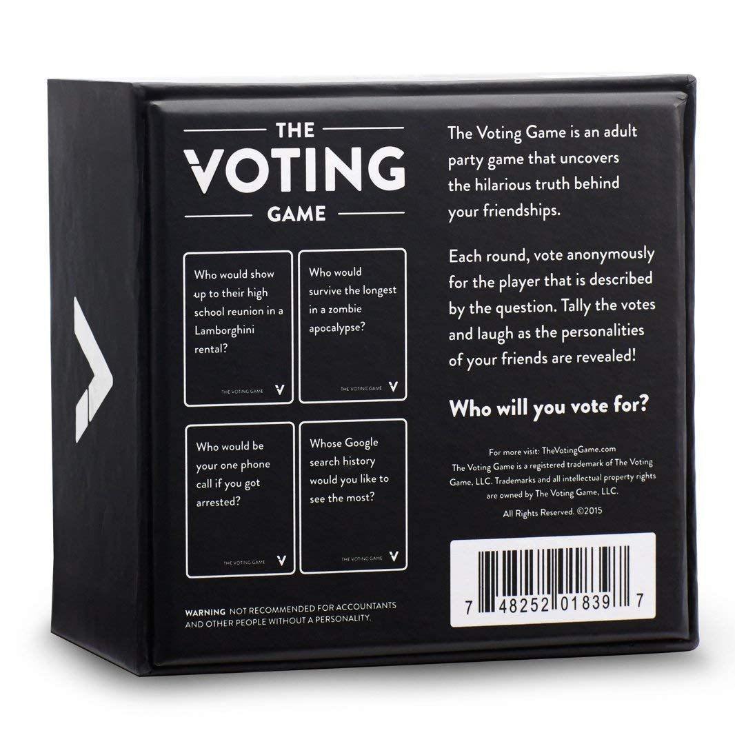 LCTCQ The Voting Game-The Adult Party Game sobre Tus Amigos ...