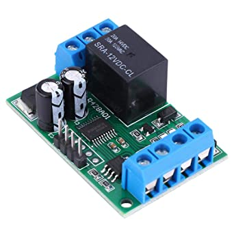 Zerone DC 12 V Single Channel RS485 RTU Puerto serie Módulo ...