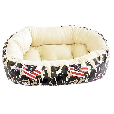 Cama para perro y gato Camuflaje USA 75*60cm.