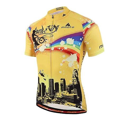 Amazon.com  ttnight Men Sportswear Bicycle Jerseys Raglan Sleeve ... 8c2565c50