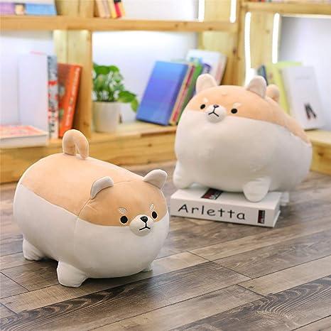 Amazon.com: LtrottedJ Anime Shiba Inu Plush Stuffed Sotf Pillow Doll Cartoon Doggo Cute Shiba Soft Toy (Brown): Toys & Games