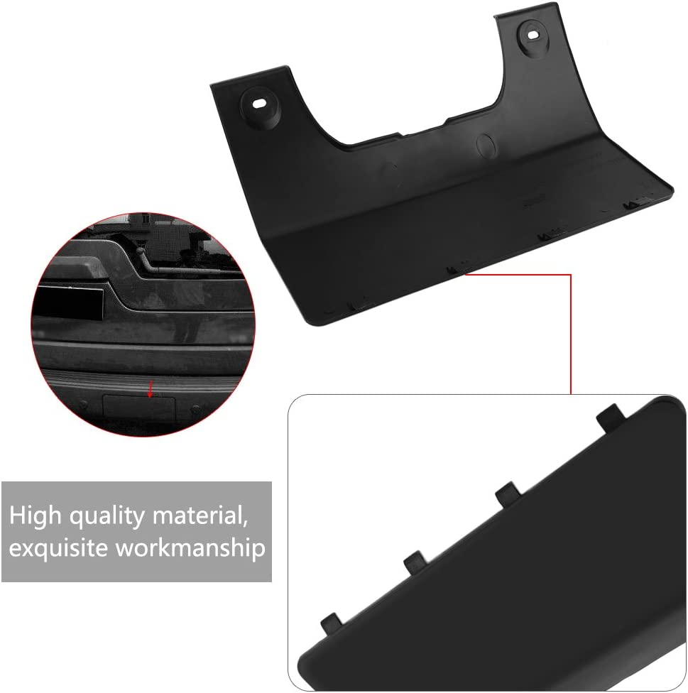 Car Rear Bumper Tow Towing Eye Hook Cover for Land Rover LR3 05-09 LR4 10-12 DPO 500011PCL Tow Cover