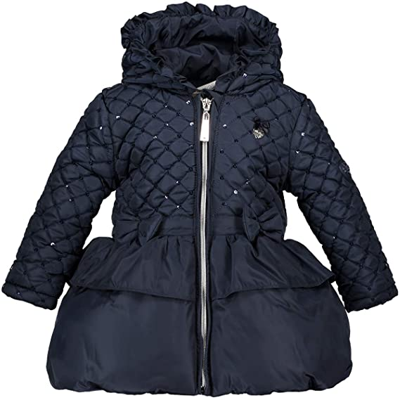 49b676532d156c Le Chic Mini Mädchen Girl Winter Mantel Jacke Winterjacke Navy (80):  Amazon.de: Bekleidung