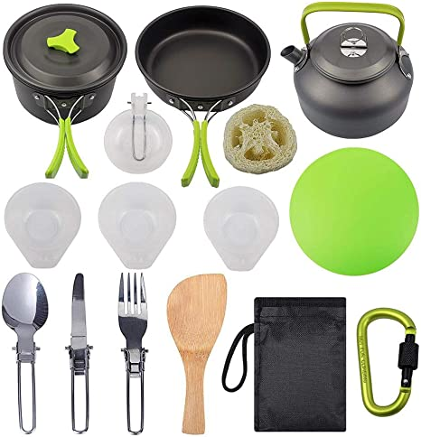 circulor Kit De Utensilios De Cocina para Acampar, Mini Kit ...