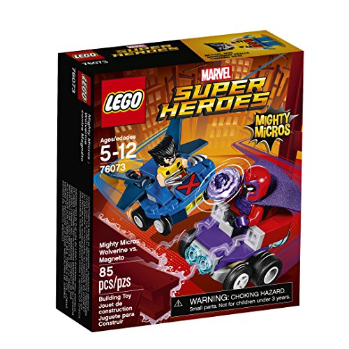 (LEGO Super Heroes Mighty Micros: Wolverine Vs. Magneto 76073 Building Kit)