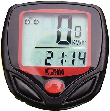 NBWS Cuentakilómetros para Bicicleta Velocimetro Impermeable ...