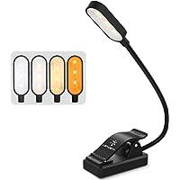 LENCENT Luminária para Livros 9 LEDs, Luz de Leitura com Proteção para Olhos 12 Modos com Presilha, Luminária Flexível…