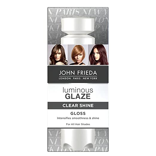 The Best Hair Products For Each Hair Type | John Frieda Luminous Glaze Clear Shine Gloss | Hairstyle on Point