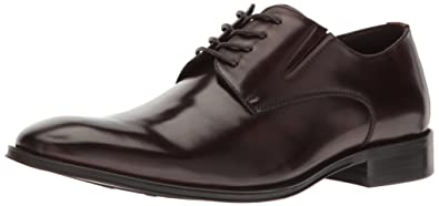 Kenneth Cole REACTION Men's Get Even Oxford, Brown, ...