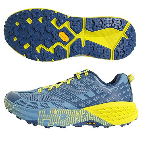 Hoka SpeedGoat 2 Man Midnight / Niagara - Scarpa Trail Running -