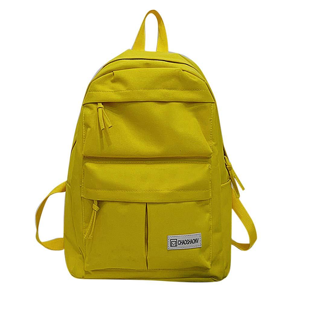 59749d01696c Amazon.com: Sentmoon Women's Casual Contrast Shoulder Bag Solid ...