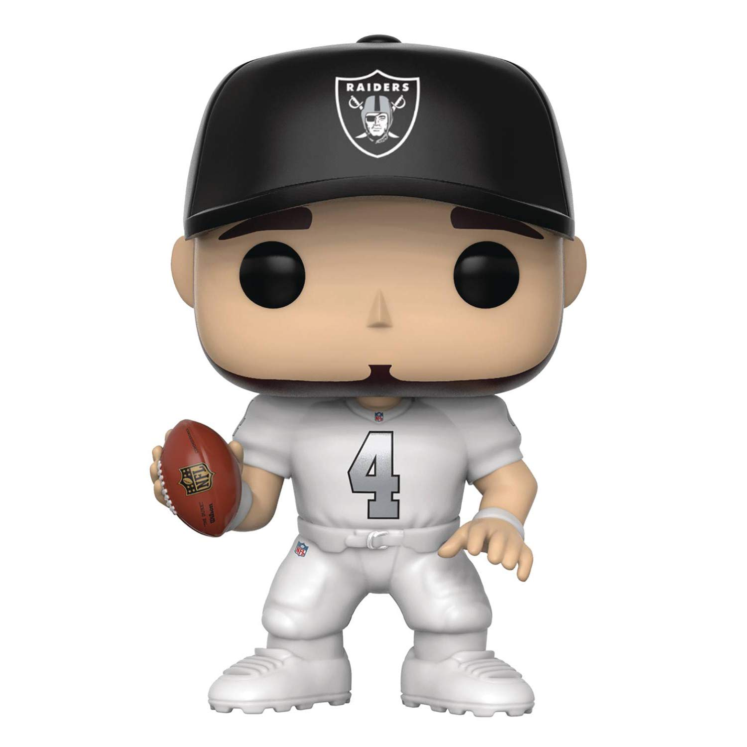 Funko Derek Carr  Oakland Raiders Rush   NFL x POP! Football Vinyl Figure    1 POP! Compatible PET Plastic Graphical Protector Bundle   047   31728 - B  c7f6af093