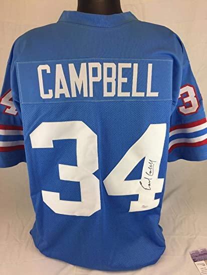 buy popular e0a88 2899b Earl Campbell Signed