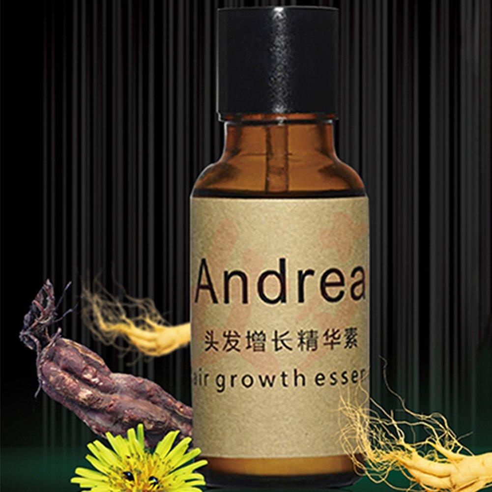 Líquido esencial de crecimiento rápido de cabello, Andrea 20 ml de tratamiento de suero para pérdida de cabello para hombres y mujeres: Amazon.es: Belleza