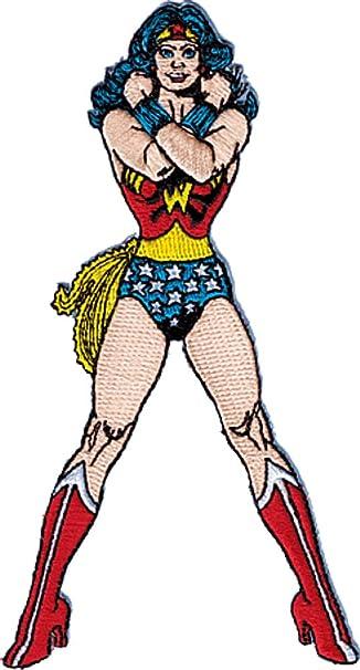 Wonder Woman de serie de dibujos animados parche de Dc Comics ...