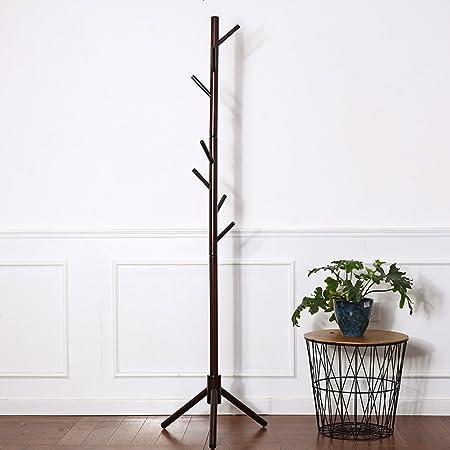 Amazon.com: Colgador de madera maciza para colgar, diseño ...