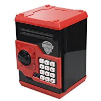 HUSAN Great Gift Toy for Children Kids Code Electronic Piggy Banks Mini ATM Electronic...