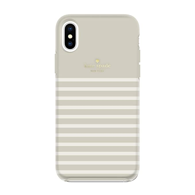 online store 37f60 5d3f0 Kate Spade New York Phone Case | for Apple iPhone Xs Max | Protective Phone  Cases with Slim Design, Drop Protection, and Floral Print - Soft Touch ...