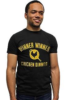 c572e259c Playerunknown's Battlegrounds PUBG Shirt Winner Winner Chicken Dinner Mens'  T-Shirt