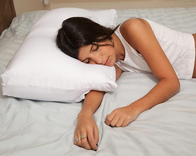 Cuscino Con Braccia.Deluxe Comfort Better Sleep Pillow Braccio Tunnel Cloud