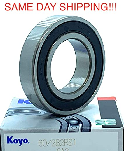 2 60//28-2RS 28x52x12 28mm//52mm//12mm 60//28RS Ball Sealed Radial Ball Bearings