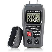 Ctlite Wood l'humidité Mètre, humide Mètre numérique l'humidité testeur de détecteur de fuite d'eau avec écran LCD pour bois/bois de chauffage/carton/papier/Brique
