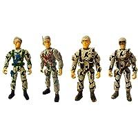 Oyuncak 4'lü Askeri Set - A06-1