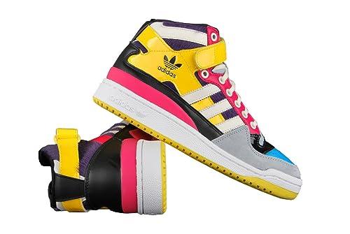 adidas Originals Forum Mid Zapatillas, Mujer: Amazon.es: Deportes y aire libre