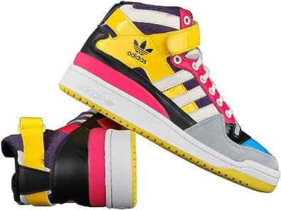 adidas Originals Forum Mid Zapatillas, Mujer: Amazon.es: Deportes ...