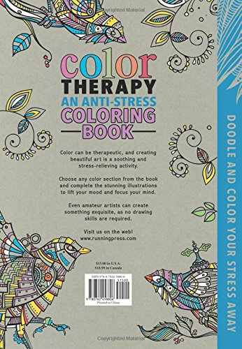 Buy Color Therapy An Anti Stress Coloring Book Online At Low Prices In India