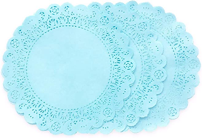 paper lace doilies Pastel Colour pack of 12 Party Decoration Scrapbooking Doily