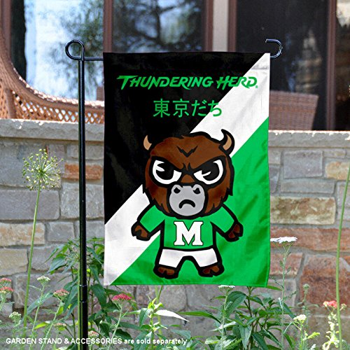 - Sewing Concepts Marshall Thundering Herd Tokyodachi Garden Flag
