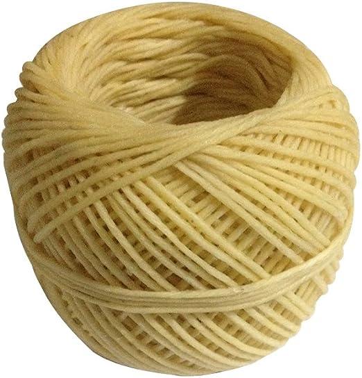 Bobina de 200 M mechas para vela mecha de algodón para hacer velas ...