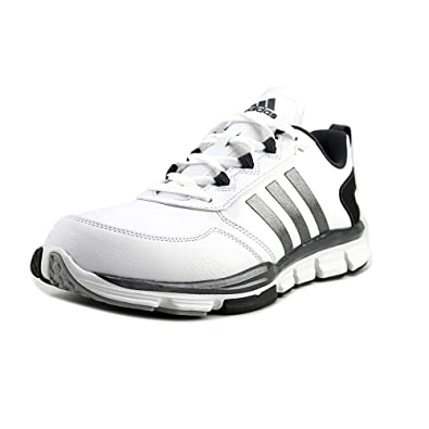 adidas Men's Speed Trainer 2 SLT White/Carbon Metallic/Onix Athletic Shoe