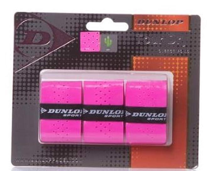 Dunlop Overgrip Tour Dry Blister 3 unidades Rosa: Amazon.es ...