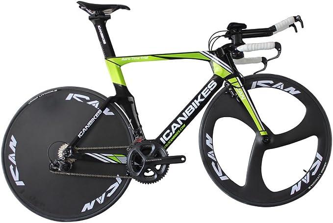 ICAN Carbono 700 C Triatlón/Time Trial Bike Shimano Ultegra 6800 ...