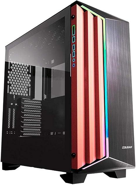 Cougar Dark Blader S Premium - Caja de Aluminio Cepillado Frontal: Amazon.es: Informática