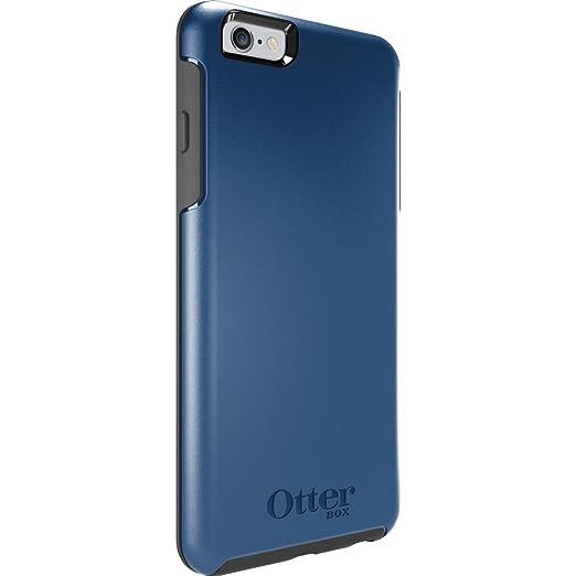 7 opinioni per OtterBox 77-50562 Symmetry Custodia per Apple iPhone 6 Plus, Azzurro