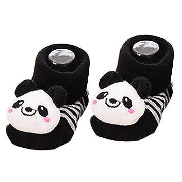 Amazon Com Aivtalk Unisex Baby Cute 3d Cartoon Short Sock Slipper