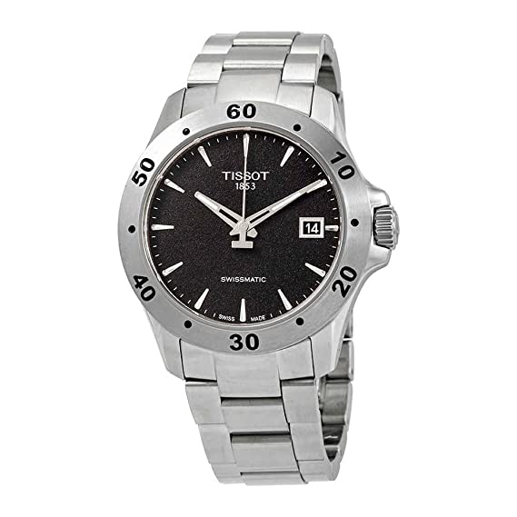 Reloj Tissot de caballero V8 Swissmatic con brazalete acero