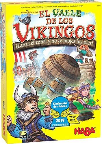 HABA- Juego de Mesa, El Valle de los Vikingos, Multicolor (Habermass H304700): Amazon.es: Juguetes y juegos